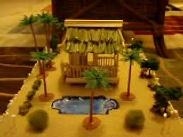 How To Make Tiki Hut Chappy U0027s Restaurant Tiki Hut Model Almost Done Youtube