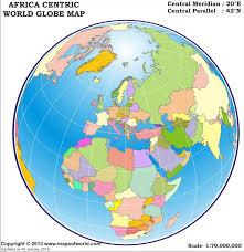 world map globe image world globe map africa centric