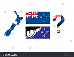 New Zealand New Flag New Zealand New National Flag Designs Stock Vector 385850002