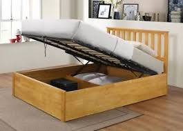 5ft Bed Frame Wooden Ottoman Storage Bed King Size Storage 5ft Bed Zoe Bed Frame