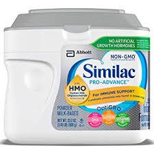 amazon pro amazon com similac pro advance infant formula with 2 fl hmo for
