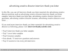 advertising creative director