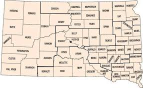 map of south dakota counties sd counties south dakota association of county officials