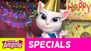 talking angela sings happy birthday to me new song youtube