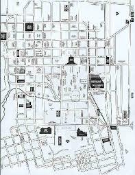 salem oregon history map of downtown salem with landmarks