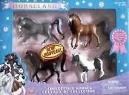 horseland 4 horses scarlet button pepper aztec ebay