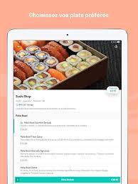 cuisine de reference gratuit deliveroo dans l app store
