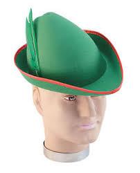 como hacer un sombrero de robin hood en fieltro robin hood oktoberfest fieltro verde sombrero alemán adulto ebay