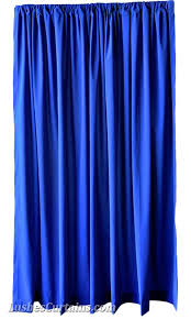 Royal Velvet Curtains 6 Ft High Flocked Velvet Curtain Panels 72 Inch Royal Blue Drapes