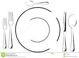 Table Setting Images by Table Setting In Line Art Royalty Free Stock Photos Image 24106328