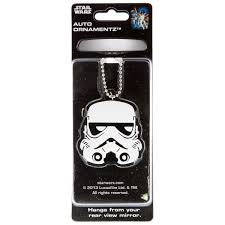 stormtrooper wars rear view mirror ornament car accessories