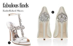 fabulous finds embellished wedding shoes arizona weddings