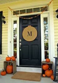 Halloween Decorating Doors Ideas The Best 35 Front Door Decorations For This Halloween