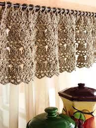 Kitchen Curtain Design 29 Best Crochet Kitchen Curtains Images On Pinterest Kitchen
