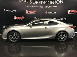 lexus rc 200t canada new 2017 lexus rc 350 f sport series 2 2 door car in edmonton