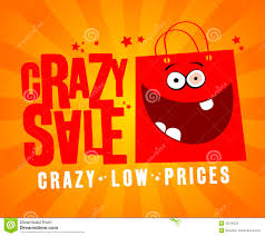 crazy sale banner royalty free stock photos image 25318228
