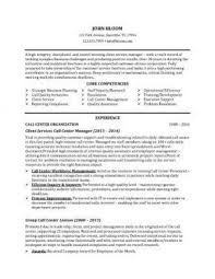 Call Center Supervisor Job Description Resume by Sample Resume Environmental Services Supervisor Professional