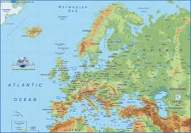 Blank Physical Map Of Europe by Map Of Europe Map In The Atlas Of The World New Zone