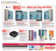 tv for sale black friday meijer spills the beans on its black friday ad twice