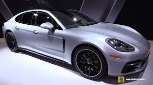 Porsche Panamera Coupe - 2017 porsche panamera 4s exterior and interior walkaround 2016
