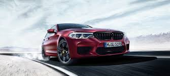 2018 bmw m5 sales will kick off with first edition models