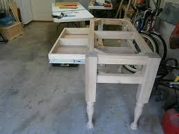 legs for kitchen island customer created colonial kitchen island osborne wood