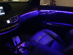 2014 S550 Interior Anyone Ever Changed Their Ambient Lighting On Their 221 Mbworld