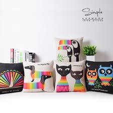 Peacock Colour Cushions Online Get Cheap Peacock Parrot Aliexpress Com Alibaba Group