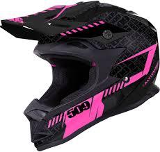 pink motocross helmet 509 altitude snow helmet