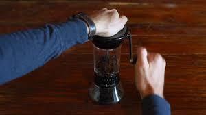 Manual Coffee Grinders Handground Manual Coffee Grinder How To Use Youtube