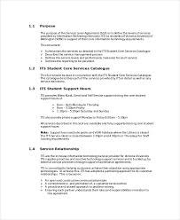 service level agreement 13 free pdf word psd documents