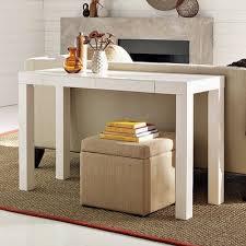 west elm entry table design plus you west elm parsons desk