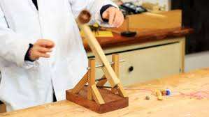 Making A Wooden Desktop by How To Make A Desktop Catapult