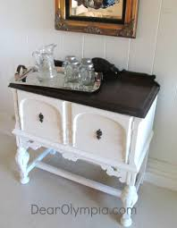 Antique White Sideboard Buffet by Elegant Sideboard And Server In Cece Caldwell U0027s Vintage White
