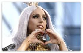 lady gaga hd desktop wallpaper widescreen