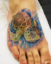 melanie loggerhead sea turtle tattoo by joshing88 on deviantart