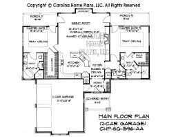 Garage House Floor Plans Small Craftsman Bungalow House Plan Chp Sg 1596 Aa Sq Ft