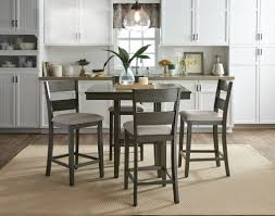 counter height dining room table birch lane brantford 5 piece counter height dining set reviews