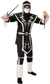Ninja Costumes Halloween Kids White Black Skull Ninja Costume Costume Craze