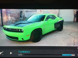 widebody hellcat green toymakerz collabo srt hellcat forum
