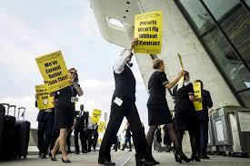 united flight attendants have a tentative labor deal