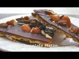 chocolate matzo recipe youtube