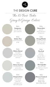 best grey paint colors 2017 a round up list of our 10 best gray and greige colors by behr the