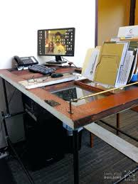 desk 138 under desk computer keyboard tray shelf sliding drawer build computer desk with kitchen cabinets mesmerizing pipe standing desk with door table top pipe standing