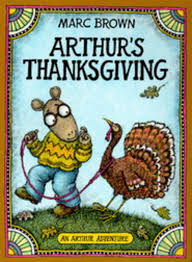 arthur s thanksgiving by marc brown scholastic