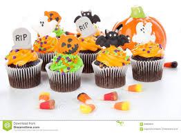 Queques De Halloween Foto De Stock Imagem 58680940