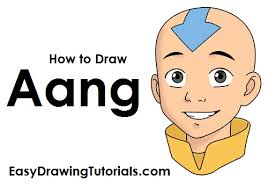 draw aang avatar