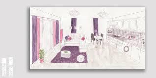 comment dessiner un canapé dessiner en perspective une cuisine amazing with dessiner en