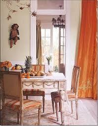 Best Orange Dining Room Images On Pinterest Orange Dining - Burnt orange dining room