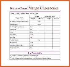 7 8 recipe template leterformat